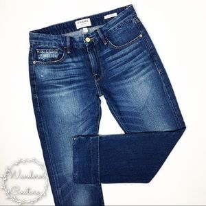 Frame Denim Le Grand Garçon Relaxed Crop Jeans